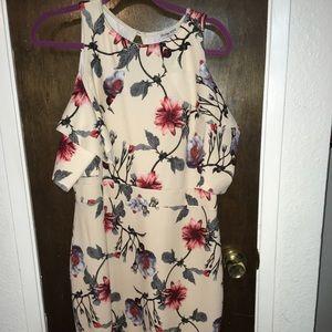 Open Shoulder Fashion Nova Dress